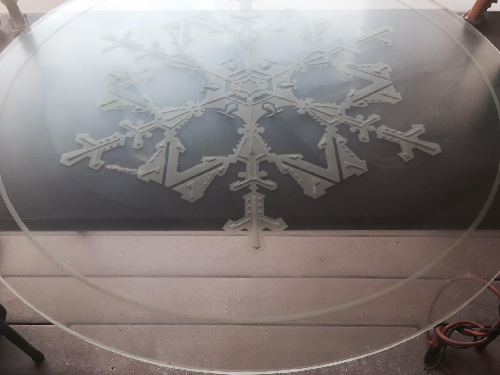 custom scratched glass table repair phoenix arizona