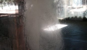 Custom Glass With Hard Water Etching Repair
