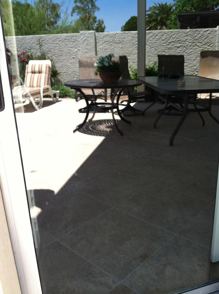 Glass Sliding Door Hard Water Removal Company Phoenix After Glass