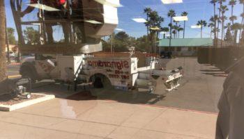 Glass Graffiti Repair Tempe AZ