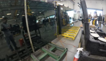 Electrochromic Smart Glass Fabrication Debris Repair