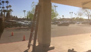 Glass Graffiti Repair Tempe AZ
