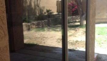 Dog Scratched Sliding Door Repair- Phoenix, AZ